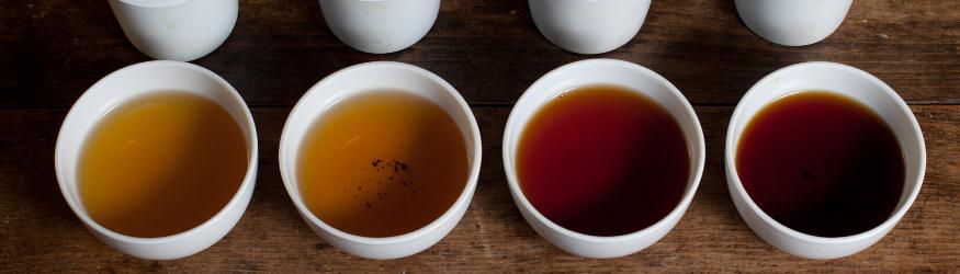 Choisir sa couleur de thé.